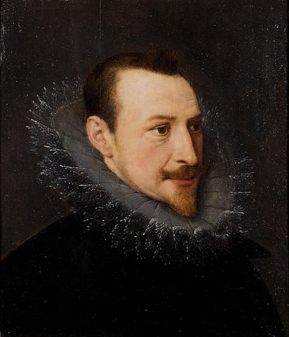 SPENSER, EDMUND (1552?-1599, poet)  PORTRAIT, ENGLISH SCHOOL, EARLY 17TH CENTURY, KNOWN AS THE 'KINN