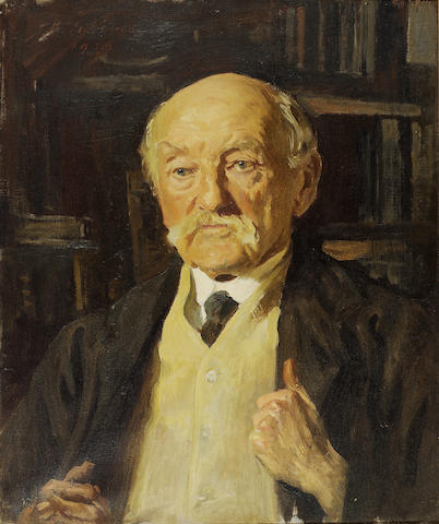 HARDY, THOMAS (1840-1928, poet and novelist, O.M.) PORTRAIT BY REGINALD GRENVILLE EVES R.A., R.P. (1876-1941),