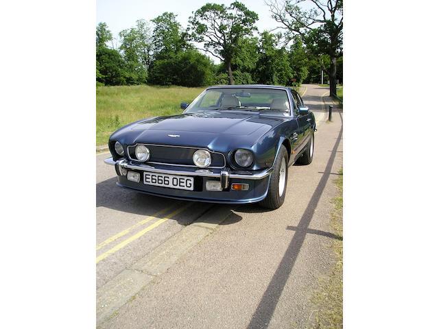 1988 Aston Martin V8 Series 5 Saloon  Chassis no. SCFCV8153JTR12605 Engine no. V/585/2605