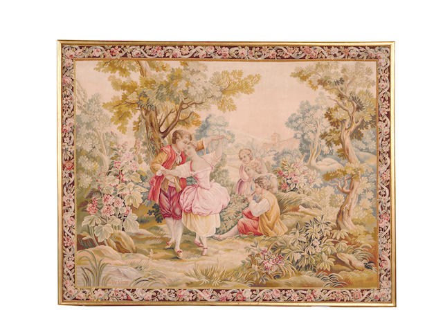 An Aubusson tapestry 20th century, France, 173cm x 135cm