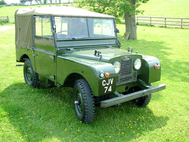 1951 Land Rover Series I  Chassis no. 26100837