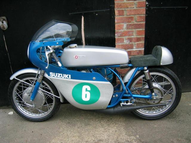 1968 Suzuki TR250 Racing Motorcycle  Frame no. 10024