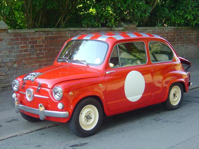 1963 Fiat Abarth 850TC Replica  Chassis no. 100D1433352