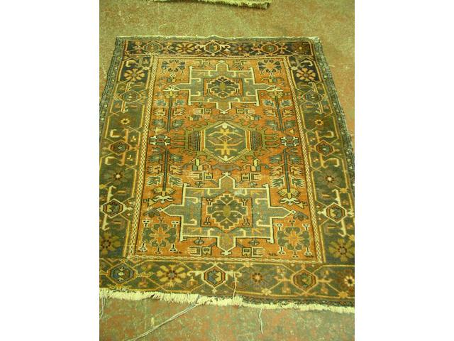 A Karadja rug, N.W. Persia,