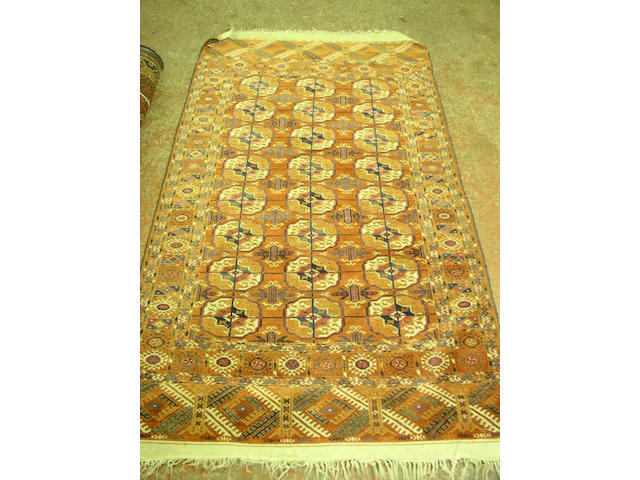 A fine Tekke rug, East Turkestan,
