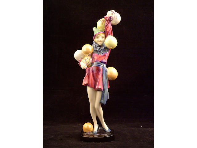 Figurines A Royal Doulton figure Folly,