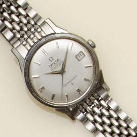 Omega: A gentleman's stainless steel Constellation Automatic chronometer  2