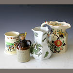 A quantity of Jugs to include examples by Maling, Carlton Ware and Masons, (qty)