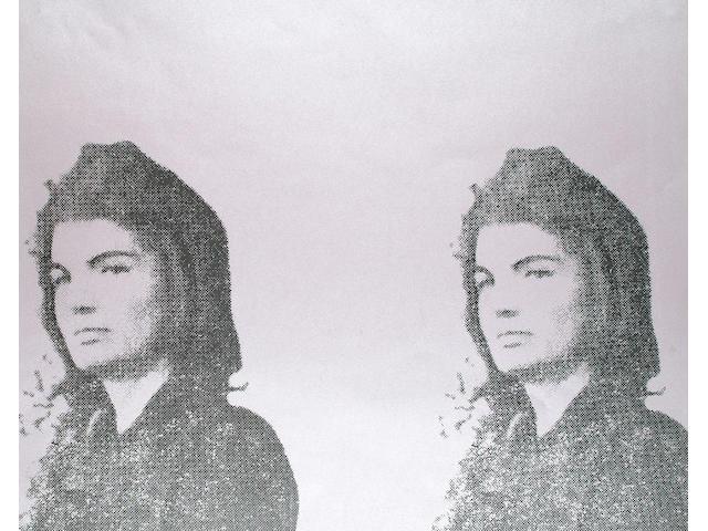 Andy Warhol (American, 1928-1987) Jackie II 61 x 79.2cm (24 x 31.2in)