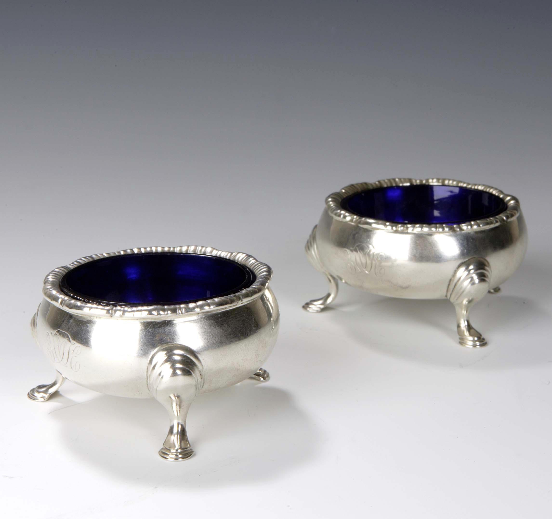 A pair of George II Salts,
