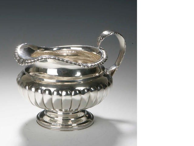 A George III Cream Jug,  by John Mackay, Edinburgh 1818,