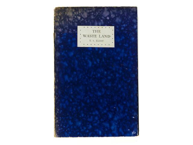 TSElliott, The waste Land, first edition