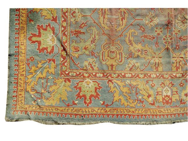 An Ushak carpet, 430 x 360cm