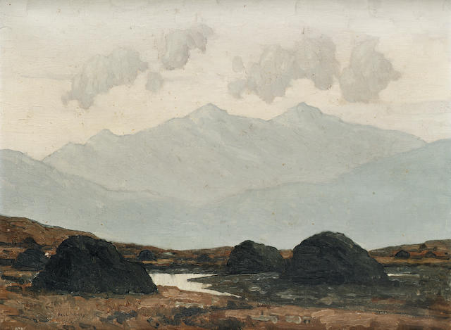 Paul Henry  In the Wicklow Mountains