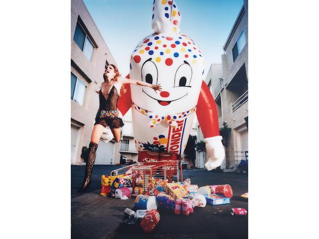 David LaChapelle (b.1964) Inflatables: Wonderbread 165 x 122 cm. (65 x 48 in.)