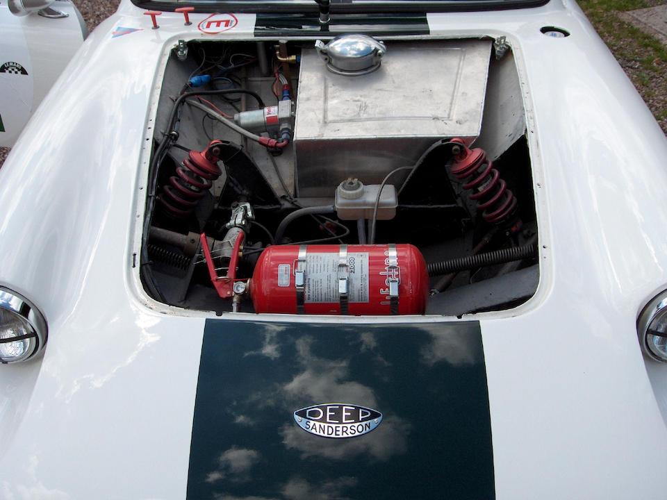 The Chris Lawrence/Gordon Spice, Le Mans,1963 Deep Sanderson 301 Coupe  Chassis no. DS3GT 1001