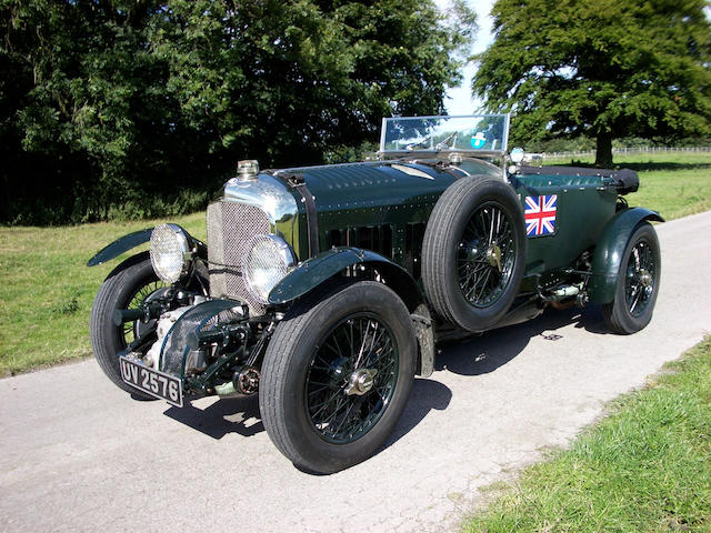 1929 Bentley 4 1/2 litre Supercharged Birkin Team Car Specification Four Seater  Chassis no. DS 3569 Engine no. DS 3569 S