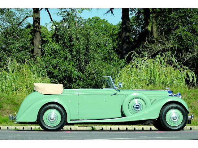 1939 Bentley 4.25-Litre Drophead Coupe  Chassis no. B76MR Engine no. L7BD
