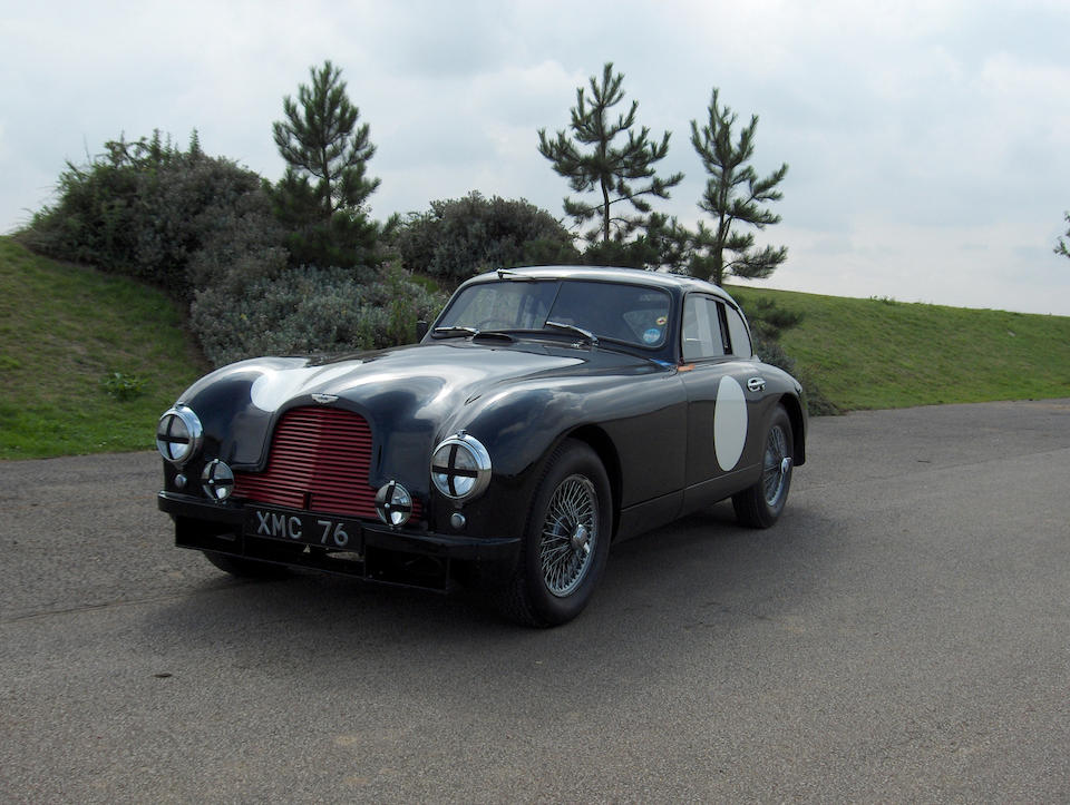 'XMC 76' - The Ex-Works Lightweight Le Mans, Mille Miglia,1951-53 Aston Martin DB2 Grand Touring Competition Coupe  Chassis no. LML/50/50 Engine no. LB6V/50/344