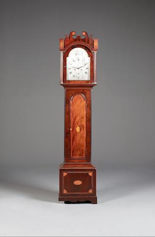 A mahogany longcase clock William Chalken