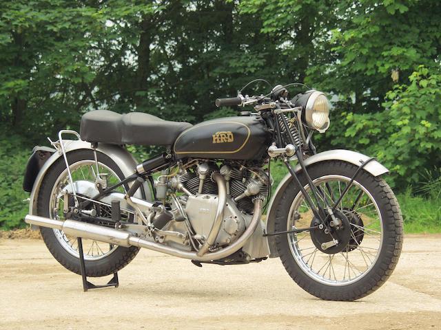 1948 Vincent 998cc Rapide  Frame no. R3594 Engine no. F10AB/1/1694