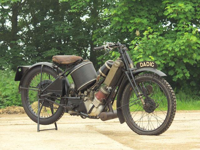 1924 Scott 498cc Super Squirrel  Frame no. 365 Engine no. Y7200