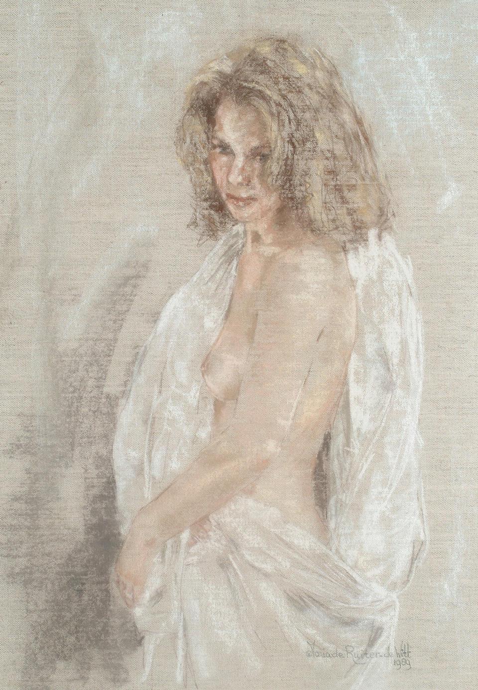 Maria de Ruiter de Witt (Dutch, b.1947) one 70 x 50cm, the other 68 x 48cm. (2)