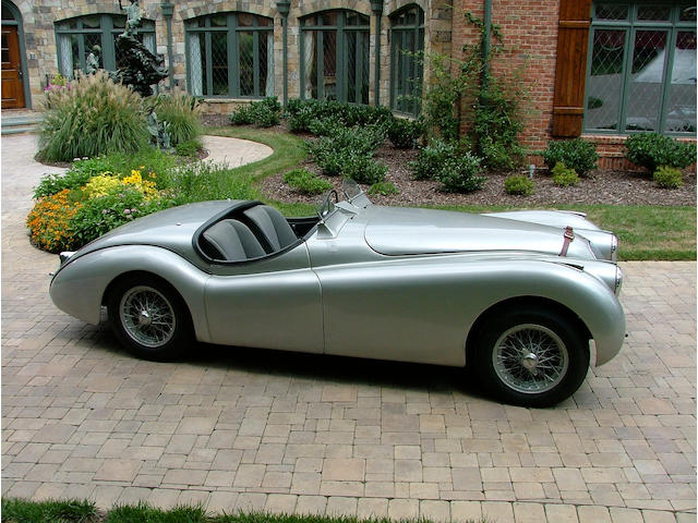 1950 Jaguar XK120 'Alloy' Competition Roadster 670119