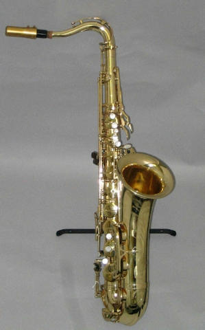 A Mark VI Tenor Saxaphone by Henri Selmer, Paris,  No. M209215