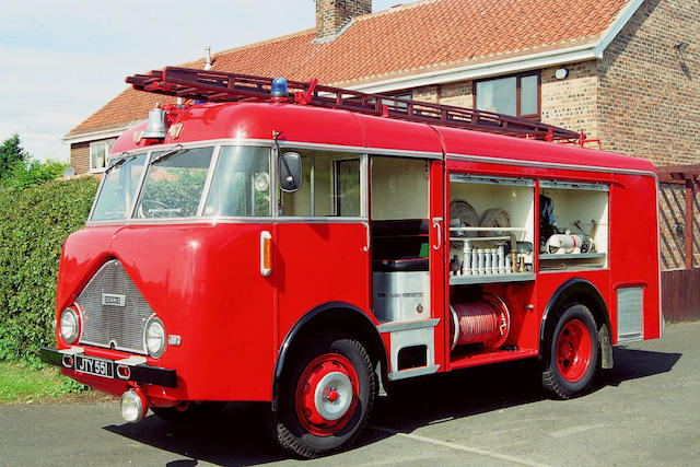 1955 Dennis F8 4.5-Litre Fire Engine  Chassis no. 4158F8