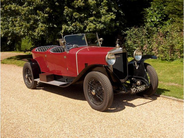 1926 Ballot 2LTS Lagache-Glazmann-style Tourer  Chassis no. 3256 Engine no. 47632