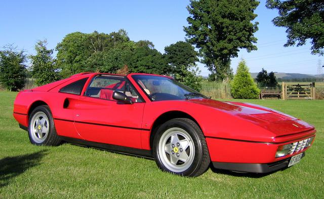 1989 Ferrari 328 GTS 2FFWAZ0CO0008196