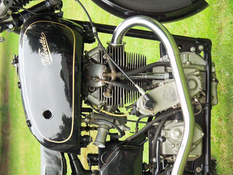The ex-Les Graham, Swiss Grand Prix-winning,1948 Velocette 348cc KTT MkVIII Racing Motorcycle  Frame no. SF 121 Engine no. KTT 973