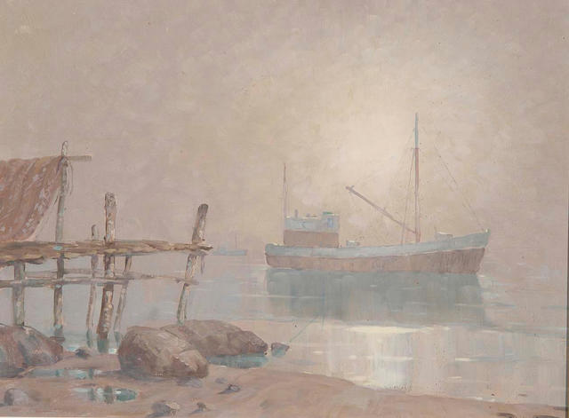 Nils Severin Anderson (Swedish 1817-1865) 49 x 64cm (19¼ x 25in).