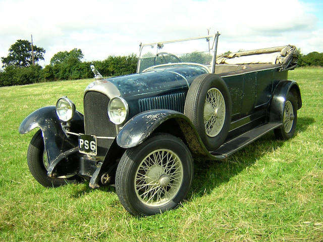 The Ex-Harrah Collection,1928 Rolland-Pilain Type 126 Series II Seven-Passenger Tourer  Chassis no. 9346 Engine no. 9346