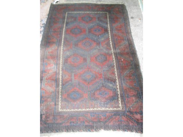 A Baluch rug