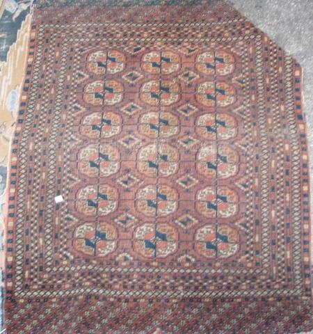 A Tekke rug