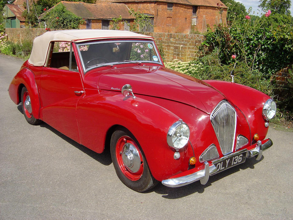 1954 Healey Abbott Drophead Coupe  Chassis no. F3044 Engine no. F8118