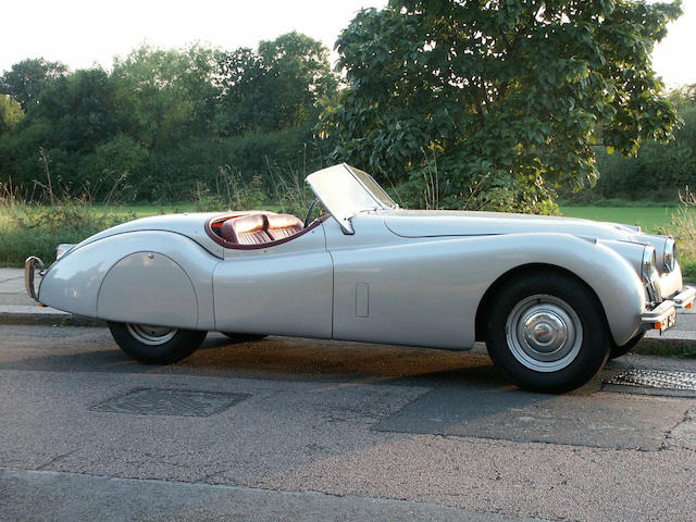 1953 Jaguar XK120 Roadster  Chassis no. 661147 Engine no. F1117-8