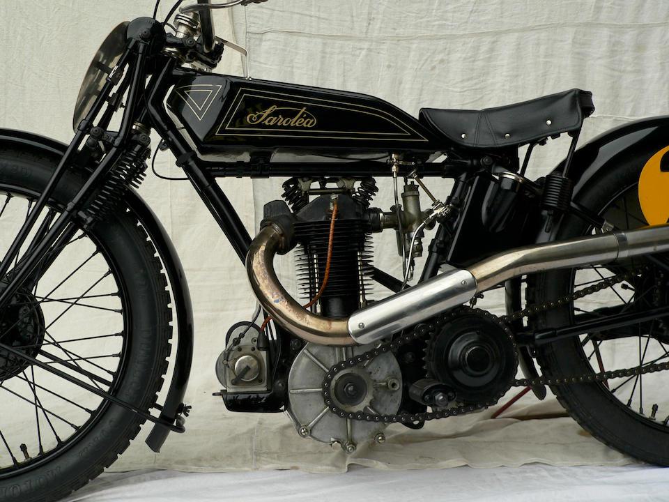 The ex-Hugo Karlsson, Swedish TT-winning,1928 Sarolea 498cc Racing Motorcycle  Frame no. 1227 Engine no. 35463