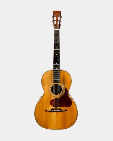 A guitar of some quality Martin School circa 1900