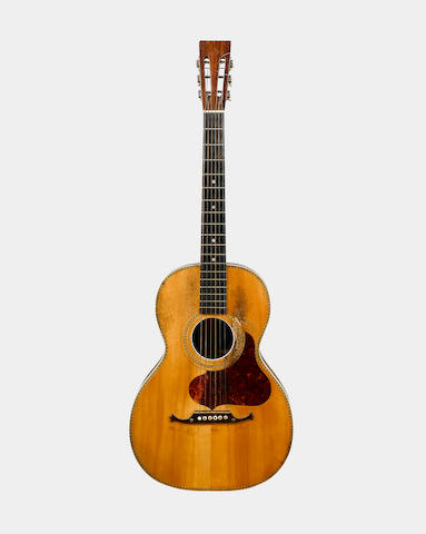 A guitar of some quality  Martin School ca 1900