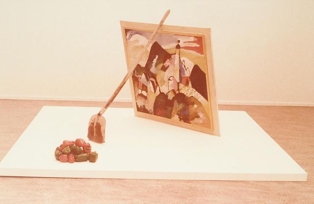 Braco Dimitrijevic (Bosnian, born 1948) Triptychos Post Historicus (Kandinsky)