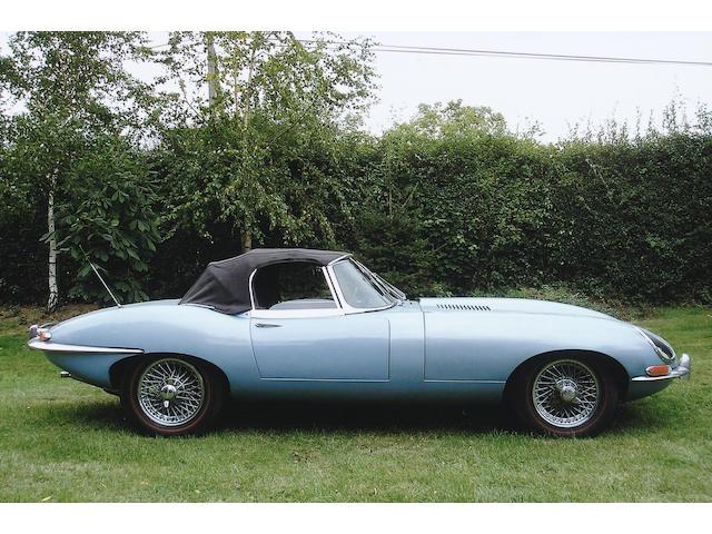 1966 Jaguar E-Type Series 1 4.2-Litre Roadster  Chassis no. 1E14052 Engine no. 7E11144-9