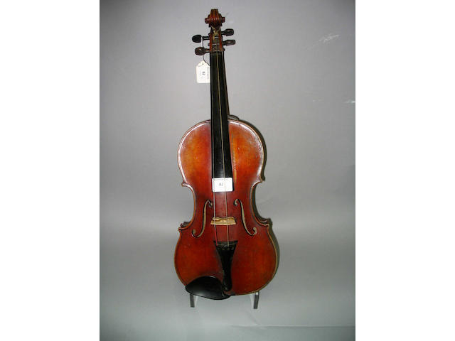 A good Mirecourt Violin ca 1900 attributed to Leon Mougenot