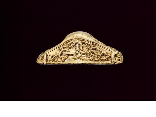 An Anglo-Saxon gold pommel