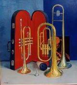 ***Connolly 'Brass' 85 x 78cm.
