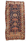 A South Caucasian long rug 8 ft x 4 ft 3 in (244 x 130 cm)