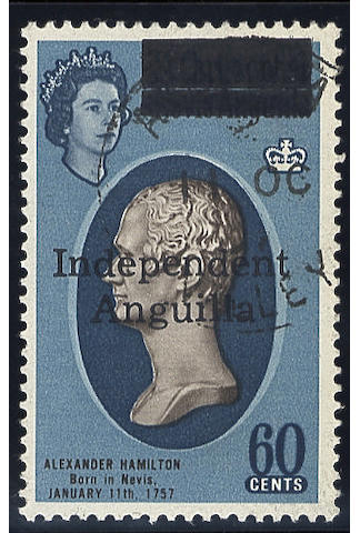 Anguilla: 1967 Independence set, fine used, rare. S.G.£2250, (1131)