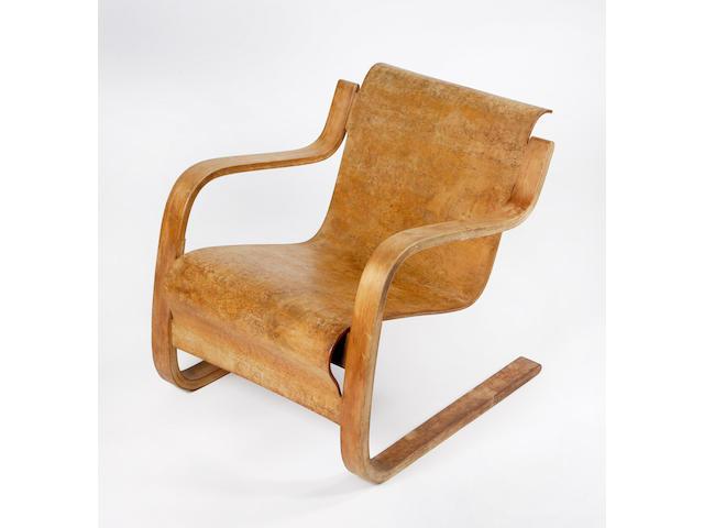Alvar Aalto A No. 31 Armchair designed circa 1932,